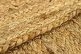 HAMID Jute Teppich Natur - Alhambra Oval Teppich 100% Naturfaser de Jute (90x150cm) - 7