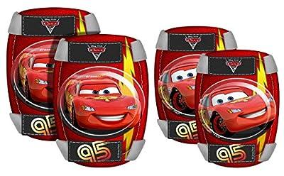 Stamp Knie- und Ellenbogenschützer-Set Lightning McQueen
