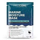 Premium Moisturising Sheet <span class='highlight'>Mask</span> by PROCOAL - Potent Antioxidants & Marine Ferments, Hydrating Sheet <span class='highlight'>Mask</span> For Men & Women, Better Than Korean Face <span class='highlight'>Mask</span> Sheets, Vegan | Formulated in UK