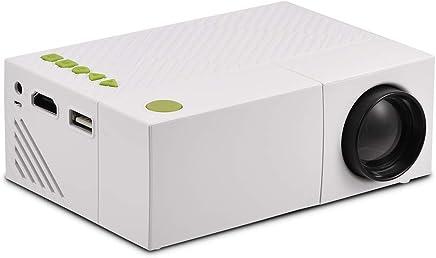 Vbestlife 1080P Portátil Multimedia Vídeo Proyector LED Mini Home Theater Video USB/TF/AV/HDMI de Entrada Resolución Nativa 320 * 240 (Blanco)