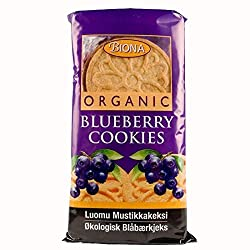 Blueberry filled cookies Organic Known barcodes: 5032722300392, 5032722300392