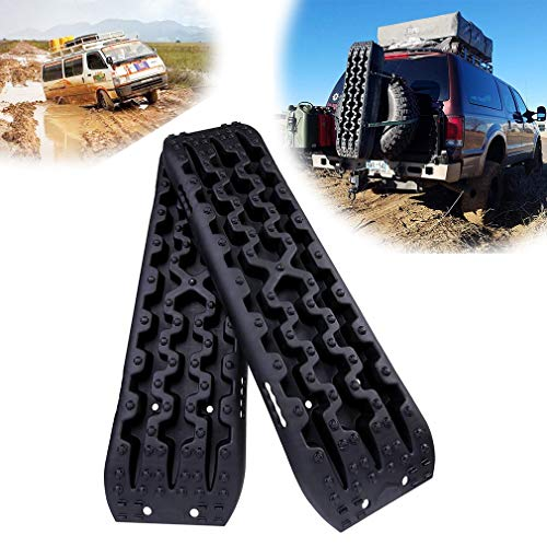 Why Choose OKLEAD Recovery Board Traction Mat Track Tire Ladder Universal Fit Pickup SUV Campers 4Wd...