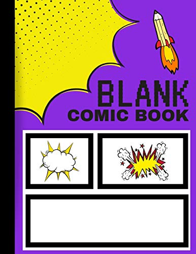 Price comparison product image Blank Comic Book: Create Your Own Comics