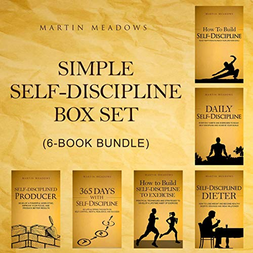 Simple Self-Discipline Box Set (6-Book Bundle) cover art