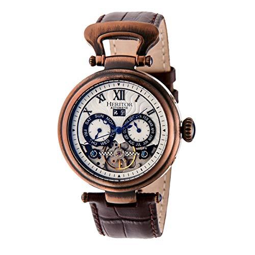 heritor automatic -Armbanduhr Analog Automatik HERHR3308_Brown