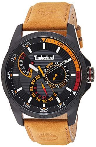 Timberland Reloj Multiesfera para Hombre de Cuarzo con Correa en Cuero TBL15641JSB.02
