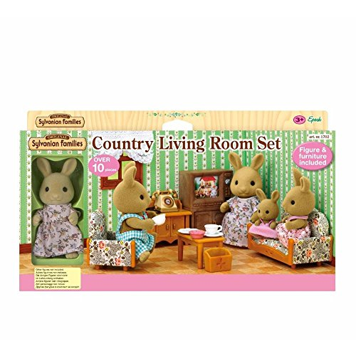SYLVANIAN FAMILIES- Gioco Bear Sister with TV, Multicolore, 5163