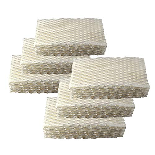 HQRP 6-Pack Humidifier Wick Filter works with ProCare PCCM-832N PCCM-840 Cool Mist Humidifier, AC813 PCWF813 PCWF813-24 Replacement