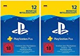 PlayStation Plus Mitgliedschaft | 24 Monate | PS4 Download Code - deutsches Konto - 12 + 12 Monate Edition | PS4 Download Code - deutsches Konto