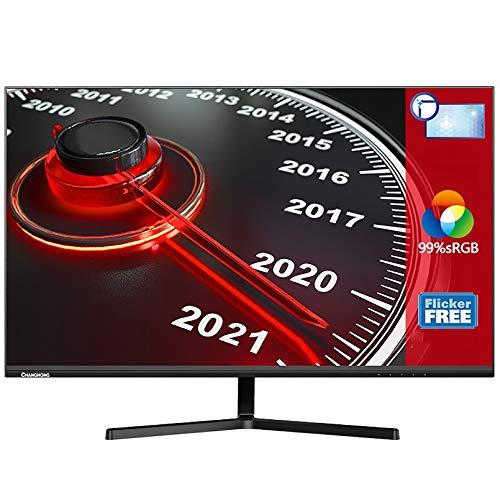 Monitor Pc - Monitor 24 Pulgadas con Cable HDMI, Pantalla VA, 60 HZ, 250 CD / M2, Bisel Delgado Cuidado De Ojos para El Trabajo Y Entretenimiento En Casa