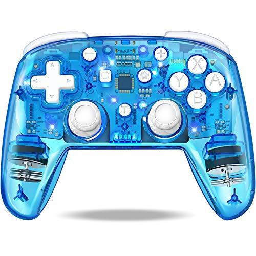 DinoFire『スイッチコントローラー全透明PS4型(Q105-DF2-JP)』