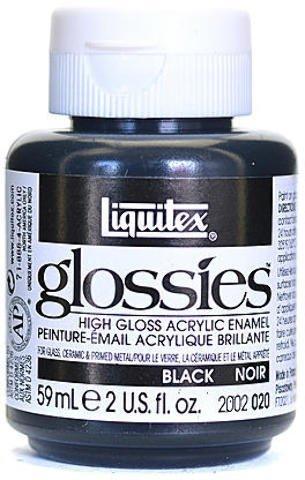 Liquitex Glossies Acrylic Enamel Colors (Black) 1 pcs sku# 1835019MA