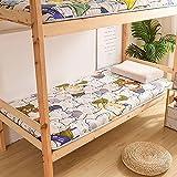 GAYBJ Colchón Plegable de Tatami Colchón de Piso Doble japonés Colchón Plegable del Dormitorio del Estudiante Estudiante...
