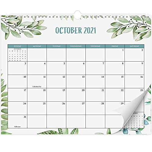 Aesthetic Greenery Wall Calendar - The Perfect Monthly Calendar for Easy Planning - Runs from June...