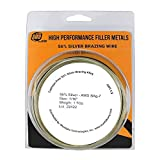 """SÜA Silver Brazing Solder Wire - 56% - AWS BAg-7 - Size: 1/16"""" - (1 Troy Ounce)"""