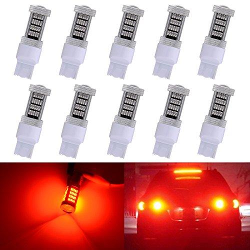 Katur 7443 7444 NA 92 SMD 4014 objectif LED Car Lights ampoules 900lumens 12 V Auto ampoule de rechange RV Camper Car SUV Queue Arrêt inversée sauvegarde de frein lumière blanc 2-pack