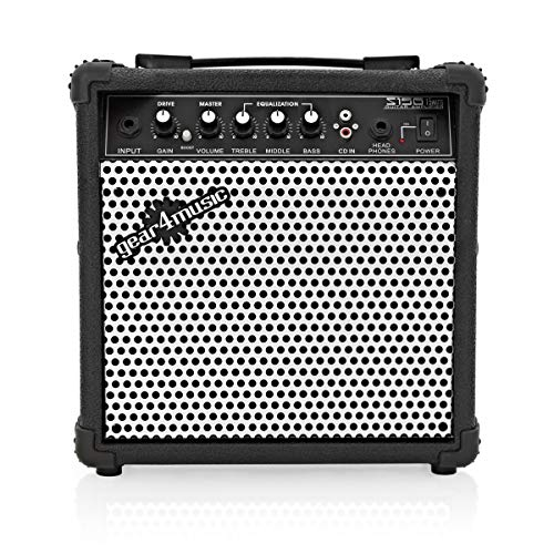 15W Electric Guitar Practice Amp by Gear4music