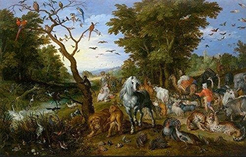 Unbekannt Puzzle 1000 Teile - Brueghel Pieter - Noah's Ark