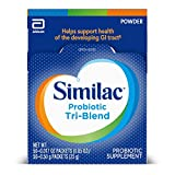 Similac Probiotic Tri-Blend Supplement Powder, Single-Use Power Packets, 0.017 oz Each, 50 Count