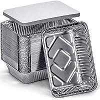14-Pieces DecorRack 2.25 Lb. Aluminum Pan Disposable with Flat Board Lid