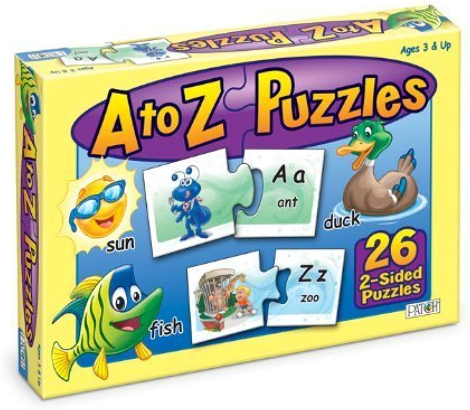 A to Z Puzzles by Patch Products