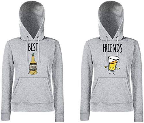 TRVPPY Partner BFF Damestrui met capuchon Tequila & Bier Best Friends BFF/in verschillende Kleuren: