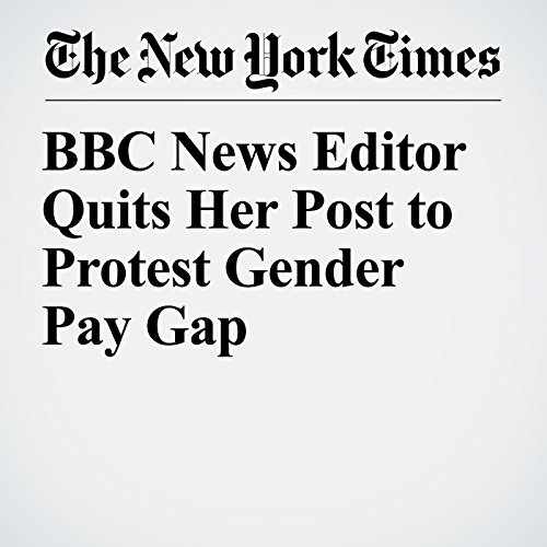 BBC News Editor Quits Her Post to Protest Gender Pay Gap copertina