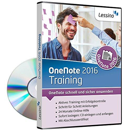OneNote 2016 Training | Schritt für Schritt OneNote lernen | Perfekt für Studenten, Lehrer, Privat und Beruf [1 Nutzer-Lizenz]