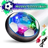 Kids Toys Hover Soccer Ball, Rechargeable Air Power Football Floating Soccer with LED