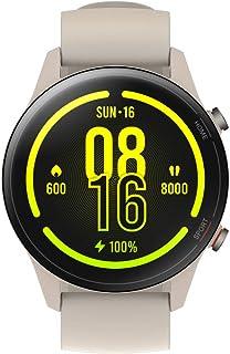 Xiaomi Mi Watch Smartwatch (1,39 tum AMOLED-HD-skärm; mätning och övervakning av syrehalt, puls, stressnivå, sömncykel; GP...