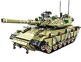 Set de Construcción tanque de batalla principal MK4 de la serie militar, partículas 1730, compatibles con bloques de construcción de marca, juguetes educativos para niños mayores de 8 años