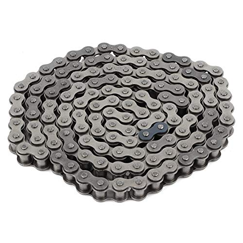 aqxreight - Drive Chain, 128 Links Drive Chain with Joiner Connecting Link Fit for 200cc 250cc PIT Quad Dirt Bike ATV