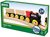 BRIO World 33409 - Classic Holz-Transportzug