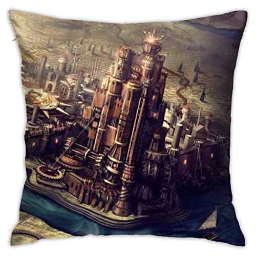 Fundas de cojín decorativas de algodón de Game Thrones, para salón, sofá, cama, suave, 48 x 45 cm