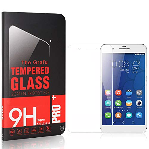 Fantastic Deal! The Grafu Screen Protector for Huawei Mate 9 Lite, Ultra Clear, 9H Tempered Glass Sc...