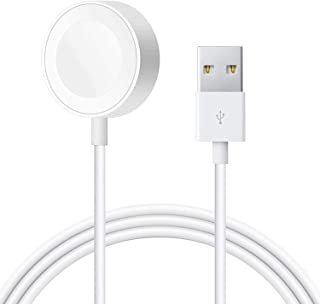Powlaken Watch Charger, Magnetic Charging Cable Cord Compatible with Apple Watch Series Se, 6, 5, 4, 3, 2, 1