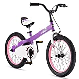 RoyalBaby CubeTube Kid's Bikes, Unisex Children's Bikes with Training Wheels, Various Trendy Features