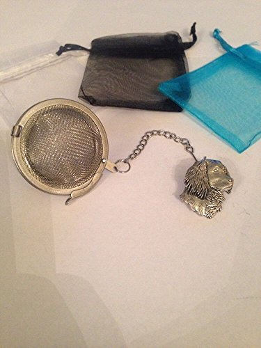 spaniel Dog 5,1 cm Tea Ball mesh infusore in acciaio INOX sfera colino A5
