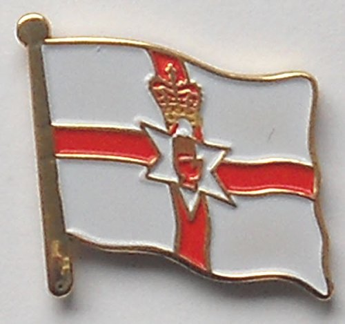 MadAboutFlags Pin/Badge Flagge Fahne Nordirland