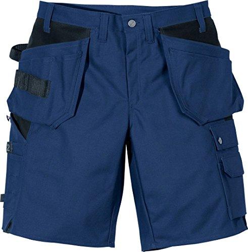 Fristads Kansas Workwear 100276 Craftsman Shorts Gr. 42W x 33L, blau