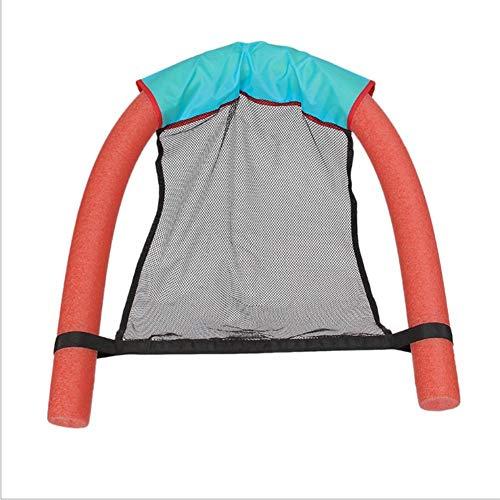 Qianele - Flotador para natación (suave, duradero), rojo