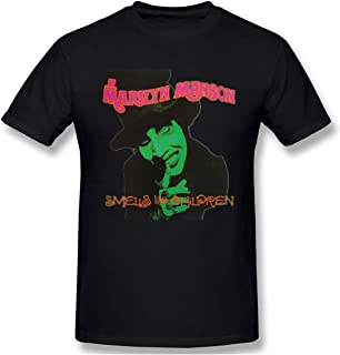 Matta Kids Marilyn Manson Smells Like Children Raglan Baseball Tee for Girls /& Boys Black