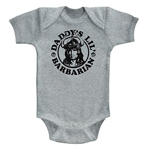 American Classics - Barboteuse - Manches courtes - Opaque - Bébé (garçon) - Gris - 18 mois