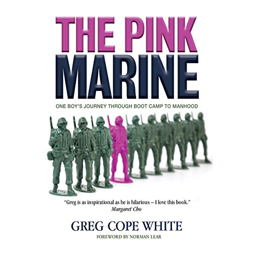 The Pink Marine audiobook cover art
