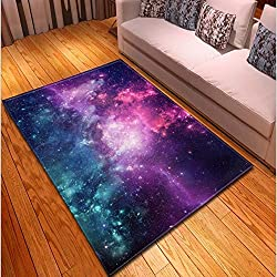 KFEKDT Simple Mysterious Starry Carpet Living Room Carpet Bedroom Dining Room Rugs and Carpets for Home Parlor Carpet A9 60x270cm
