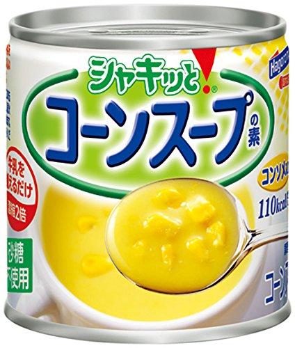 スマートマットライト はごろも シャキッとコーンスープの素 コンソメ入り 180g (2614)×6個