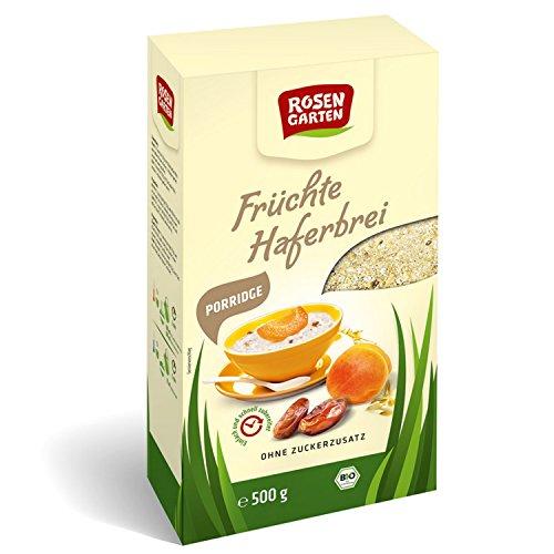 Rosengarten - Bio Porridge Früchte-Haferbrei - 500g