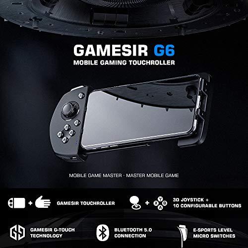 『Android ワイヤレス ゲームパッド GameSir G6 片手コントローラー COD/PUBG/ラフォートナイト/機動都市X/崩壊3対応』の5枚目の画像