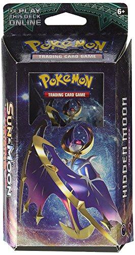 Pokemon TCG: Sun & Moon - Guardians Rising Theme Deck | | Full Ready to Play Deck of 60 Cards | Random Chance of Either Lunala Hidden Moon Deck or Solgaleo Steel Sun Deck | New GX Cards!