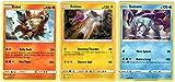 Pokemon Legendary Set - Suicune 37/189 - Entei 28/236 - Raikou 32/73 - Darkness Ablaze - 3 Rare Card Lot - Legendary Dogs